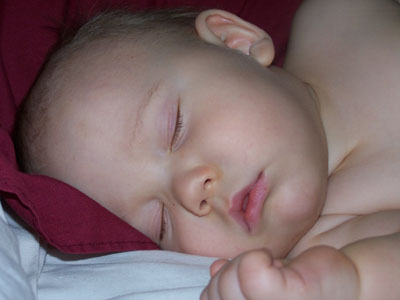 csecsemő elektroszmogban