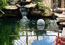 radiesztézia mérés a japánkertben